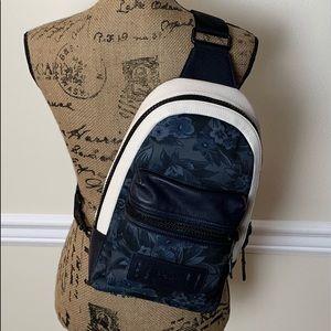 Coach cross body backpack